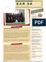 week 5 newsletter 091712
