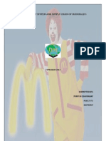 Mc Donald Supply Chain by Purvi