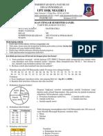 Soal UTS 1 Kelas XII Akuntansi Pemasaran