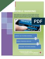 Mobile Banking by Irfan Arif