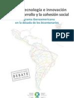Ciencia, Tecnología e Innovación para el Desarrollo y la Cohesión Social