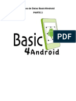 Android - Bases de Datos Basic4Android - Parte 2