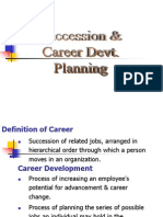 Succession Career Dev Plg