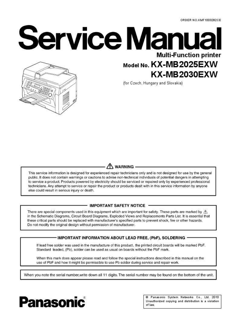 panasonic fax service manual professional user manual ebooks u2022 rh gogradresumes com Panasonic Fax Machine Troubleshooting Panasonic Fax Machines Models