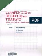 Compendio de Derecho Del Trabajo - Tomo i - Contrato Individual