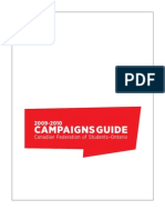 Canadian Federation of Students-Ontario 2009-2010 Campaigns Guide