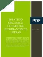 Propuesta de Estatuto Orgánico CEL