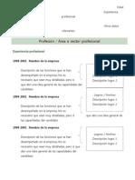 Curriculum Vitae Modelo2a Verde