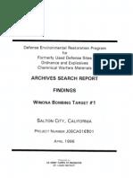 Winona Bombing Target No. 1