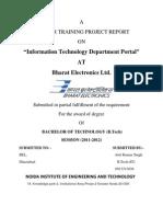 IT Department Portal
