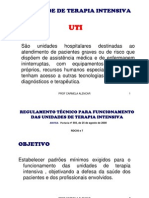 UNIDADE DE TERAPIA INTENSIVA regulamenta+º+úo