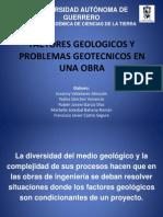 Factores Geologicos