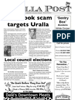 The Uralla Post Issue01 Wk36 2012