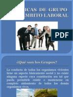 DINÁMICAS  DE  GRUPO EN EL ÁMBITO LABORAL