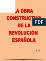 La obra constructiva para la revolución española