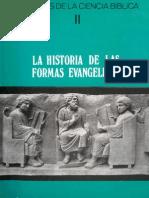 Dibelius Martin La Historia de Las Formas Evangelicas