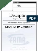 Apostila Empreendedorismo Módulo IV.NOVO