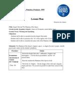 PPP - Lesson Plan