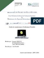Guide de Maintenance d'Ordinateur Portable