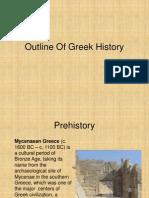 Outline of Greek History