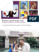 Women and Family Life for Fundline - Finding Your Balance as a Wife and Mother