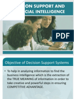 Decision Support and Artificial Intelligence