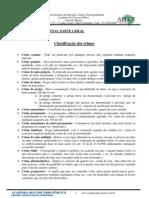 Classificacao Dos Crimes Direito Penal Leonardo