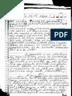 Jesús Alfredo B M -  LA HISTORIA DE MI VIDA, manuscrito