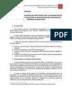 TECNICAS PARLAMENTARIAS Comisión Multisectorial de Reforma Universitaria
