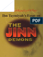 Ibn Taymiyah's Essay on the Jinn