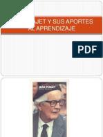 Jean Piajet y Sus Aportes Al Aprendizajes