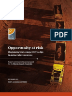 Opportunity at Risk
