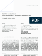 Modelo epistemológico y metodológico de Mariá Corbí - Amando Robles