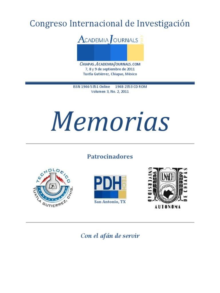 11ch0 100 Congreso Academiajournals Chiapas 2011 1 100