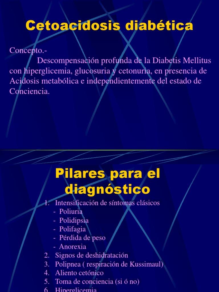 cetoacidosis diabetica y perdida de peso