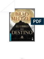 El Libro Del Destino - Brad Meltzer