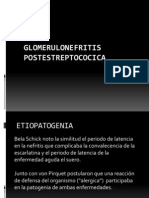 GLOMERULONEFRITIS POSTESTREPTOCOCICA
