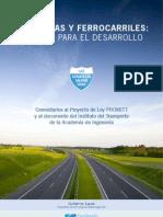 Autopistas-y-ferrocarriles Caminos Para El Desarrollo - Laura