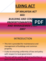 Building Act