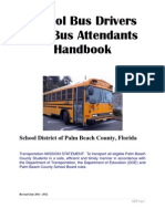 School Bus Operators and Bus Attendant Handbook