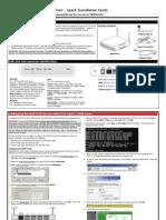 Honeywell Wap Plus Quick Install Guide
