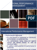 IHRM - Performance Management