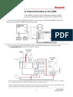 Honeywell Lynx Touch External Sounder Install Guide