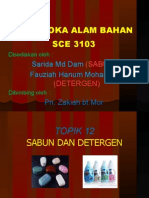 Sabun Dan Detergen Nota