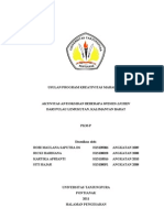 PKMP-Aktivitas Antioksidan Beberapa Spesies Lichen Dari Pulau Lemukutan, Kalimantan Barat