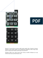 Keypad Matrix 3x4