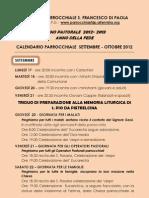 Foglietto Sett. -Ottobre 2012 1