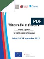 'Mineurs d'Ici Et d'Ailleurs' - formazione