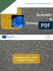 SCIENTSTU EUROPEAN COOPERATION DAY 2012 - Scientific and Entrepreneurial Picnic