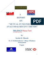 Sachin Dhande Mutual Fund Report